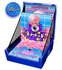 Blue Bubble Gum Monsters Carnival Case Game Without Legs