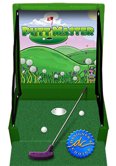Green Putt Master Golf Carnival Case Game Without Legs