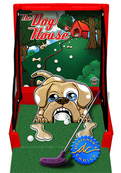 Red The Dog House Golf Carnival Case Game Without Legs