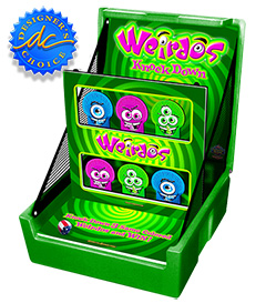 Green The Weirdos Knockdown Carnival Case Game Without Legs