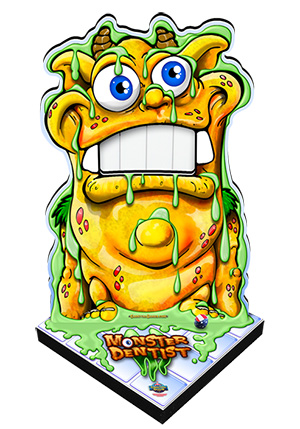 Monster Dentist Standup Carnival Game